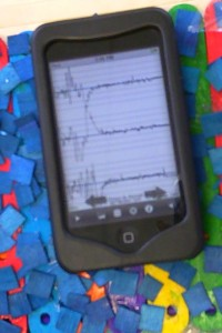 iTouch app - iSeismometer